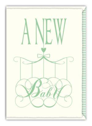 Képeslap - A New Baby