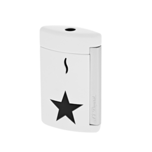 S.T. Dupont MiniJet White Black Star