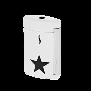 S.T. Dupont MiniJet White Black Star