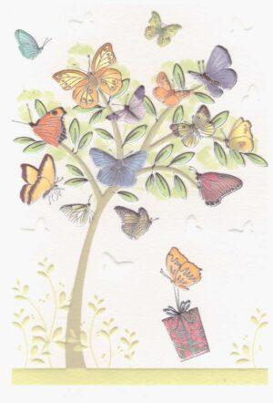 Képeslap – pillangós