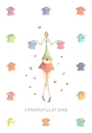 Képeslap - Gratulációs