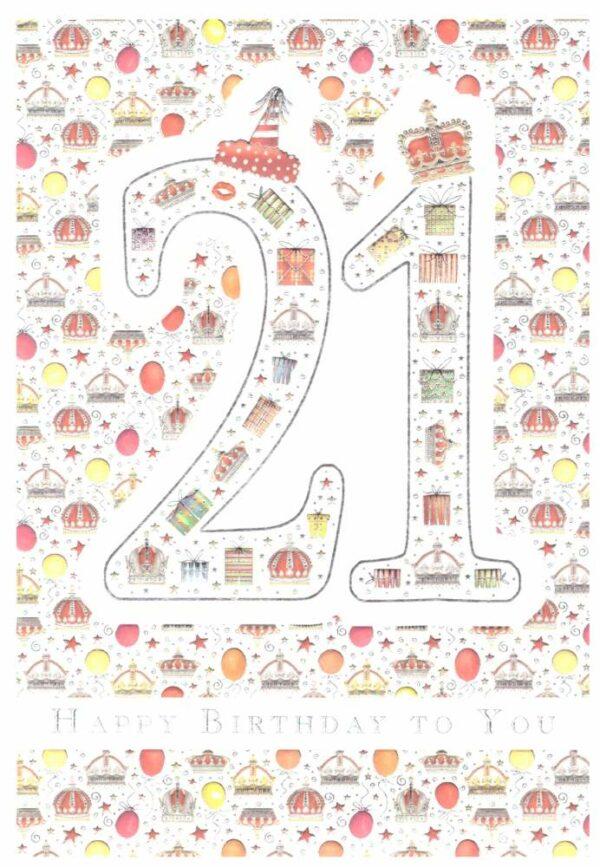 Képeslap - 21, Happy Birthday to You