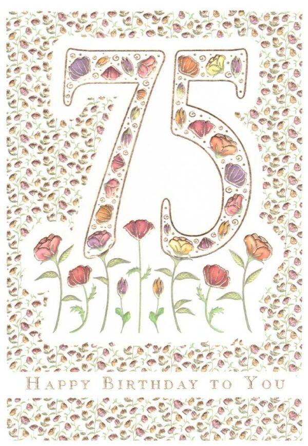 Képeslap - 75, Happy Birthday to You