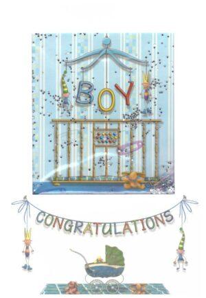 Képeslap - Gratulációs, kisfiú