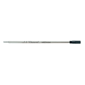 Dupont golyóstollba való tollbetét, fekete színű, F-es vastagságú.